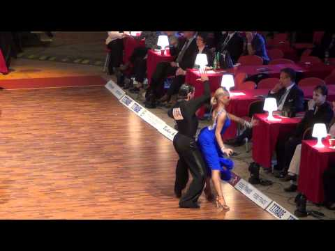 Grand Slam Latin 2011: Armen Tsaturian - Svetlana Gudyno - Samba 2. Round