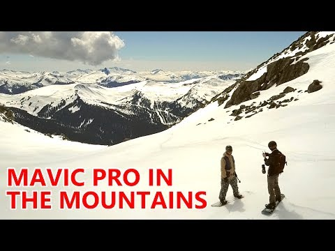 DJI Mavic Pro Drone - Big Mountain Snowboarding