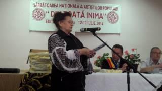 Ioana Precup- Roata vietii recitata la festivalul poetilor Din Toata Inima