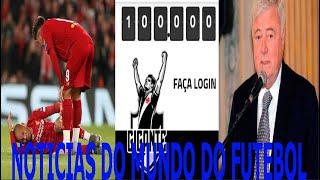 FABINHO DE FORA DO MUNDIAL DE CLUBES, VASCO CHEGAR 100 MIL SÓCIOS, EX PRESIDENTE DA CBF LEVAR BAN!