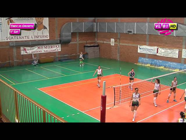 Trevi vs Orvieto - 1° Set