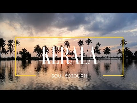 Kerala - Lake Vembanad - India's Longest Lake - HD