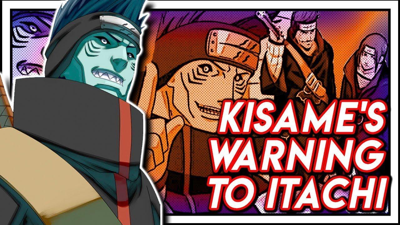 Kisame S Promise To Murder Itachi If He Betrayed Akatsuki Youtube