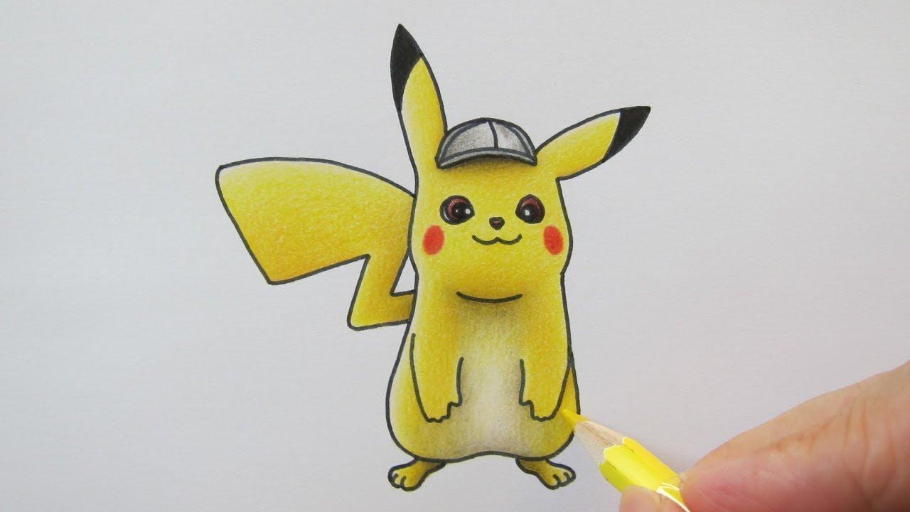 วาดรปปกาจ จาก โปเกมอน ยอดนกสบ ปกาจ Pokemon Detective Pikachu
