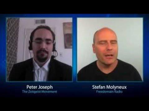 great talk ZEITGEIST Vs MARKET Peter Joseph Debates Stefan Molyneux