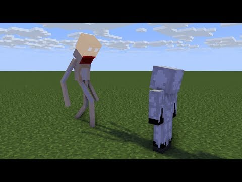 Minecraft Animations Battles: SCP-096 Vs. Entity 303. TigerEye35