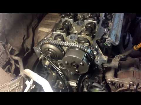Замена цепи ГРМ на Nissan Tiida. Replace the timing chain on the Nissan Tiida