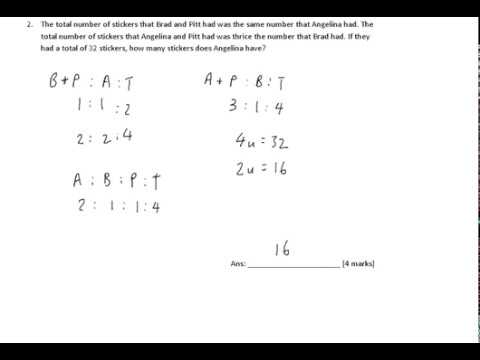 P6 Mathematics - Lesson on Wed, 07032018 830am (Ratio Must Know Quiz)