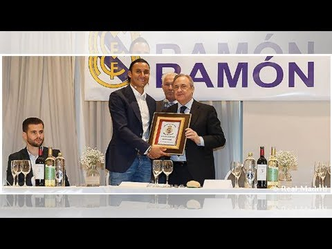 Florentino Pérez presided over the 30th anniversary of the Ramón Mendoza Supporters' club