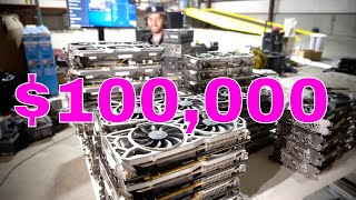 $100,000 of Mining Equipment packed in 8 min