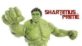 Marvel Select Hulk Avengers Age of Ultron Diamond Select Toys Movie Action Figure Review
