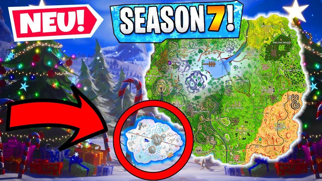 Season 7 Map Anderungen Eis Insel Fortnite Battle Royale