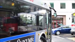 WMATA Red Line Shuttle Compilation at Farragut Square 9/8/2012