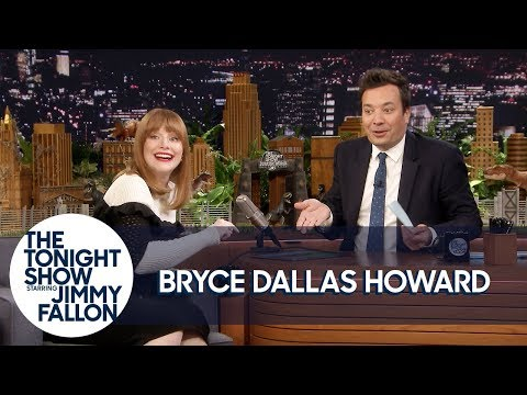 Download Youtube: Jurassic World's Bryce Dallas Howard Makes Animal Noises to Create Dinosaur Roars