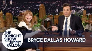 Jurassic World's Bryce Dallas Howard Makes Animal Noises to Create Dinosaur Roars
