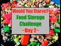 Food Storage Challenge~Day 2