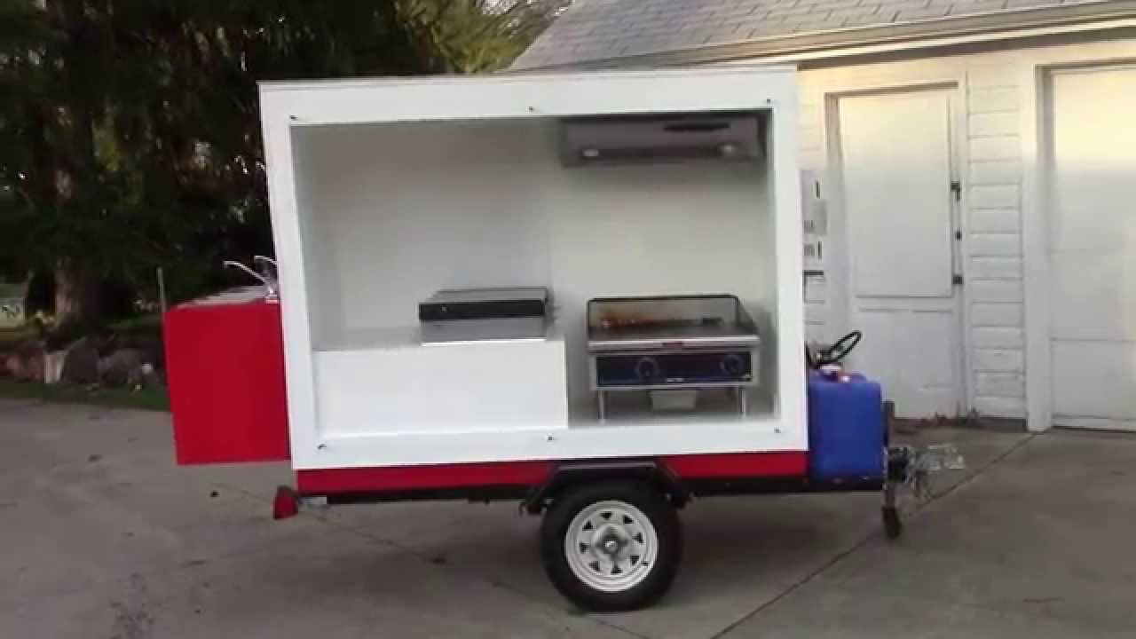 How To Make A Food Cart Youtube