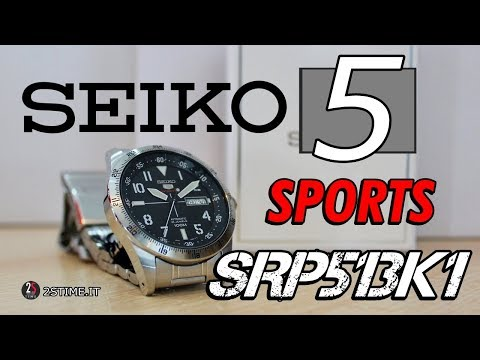 SEIKO 5 Sports SRP513K1 - The Best Sports Watches Under 250