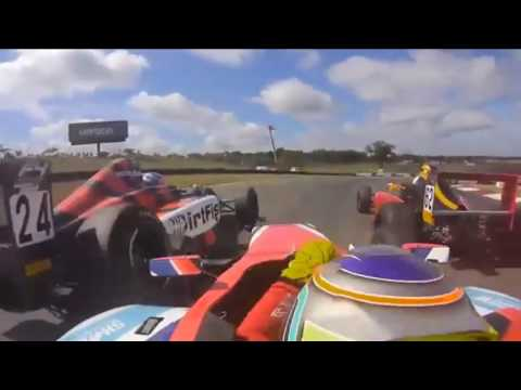 Formula 4 United States Championship 2016. Mid-Ohio Sports Car Course. Benjamin Pedersen Near Flip