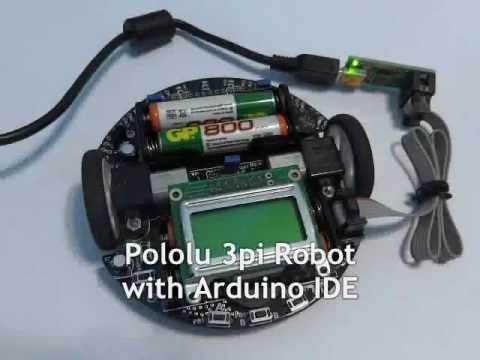 Pololu 3pi Robot with Arduino IDE (Buzzer Library)