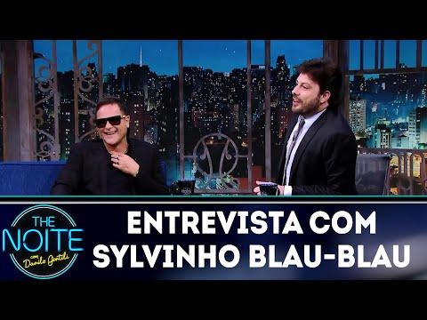 Entrevista com Sylvinho Blau-Blau  The Noite 061218