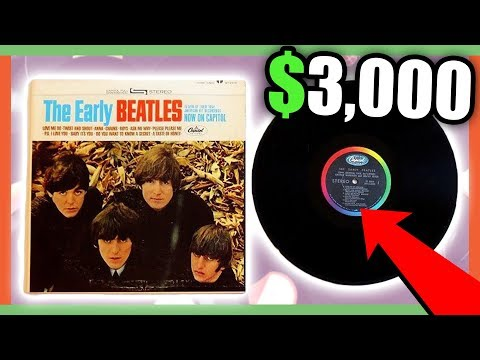 VINYL RECORDS WORTH MONEY - VALUABLE ITEMS TO LOOK FOR AT GARAGE SALES!!!