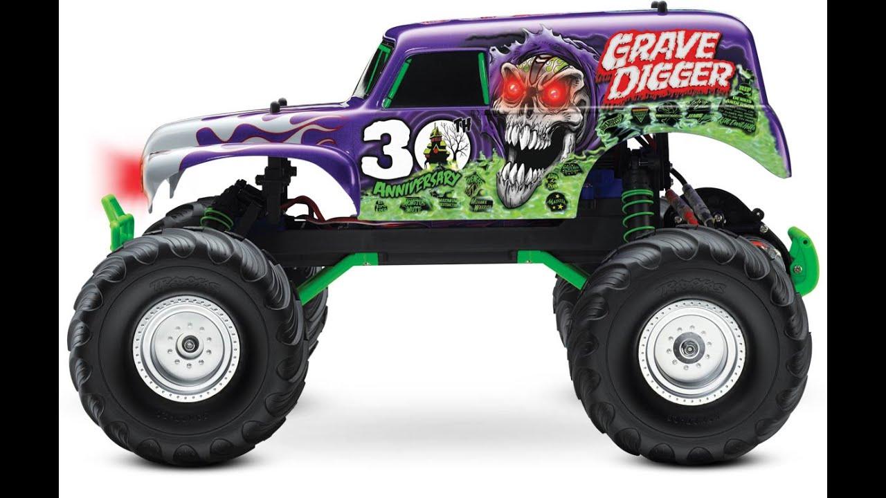 Monster Jam Grave Digger Toy For Kids YouTube