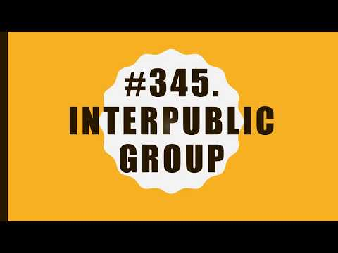 #345 InterPublic Group of Companies|10 Facts|Fortune 500|Top companies in United States