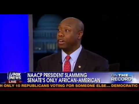 Tim Scott Fires Back