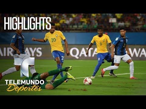 Highlights: Brasil 3 - Honduras 0 Highlights | Copa Mundial Sub-17 de la FIFA India 2017 | Telemundo