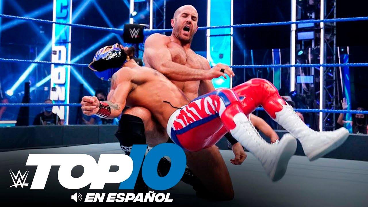 Top 10 Mejores Momentos de SmackDown En Español: WWE Top 10, Ago 7, 2020