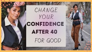 Do This to LOOK and FEEL more CONFIDENT and improve SELF-ESTEEM as you age/ OVER 40