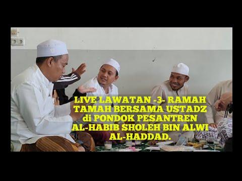 live,-lawatan--3--ramah-tamah-bersama-ustadz-di-pondok-pesantren-al-habib-sholeh-bin-alwi-al-haddad.