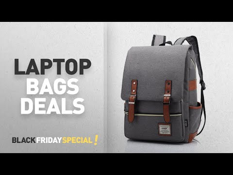 Laptop Bags Black Friday Deals: UGRACE A-001 Slim Business Laptop Elegant Casual Daypacks Outdoor
