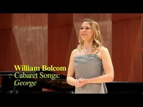 William Bolcom - Cabaret Songs: George