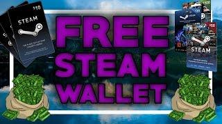 get steam wallet codes 100 free 2016