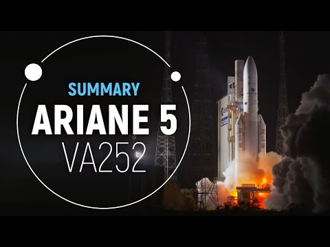 Arianespace TV VA252 Successful Mission