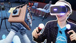 WEIRDEST PSVR PUZZLE GAME EVER! | Statik (Playstation VR Gameplay)
