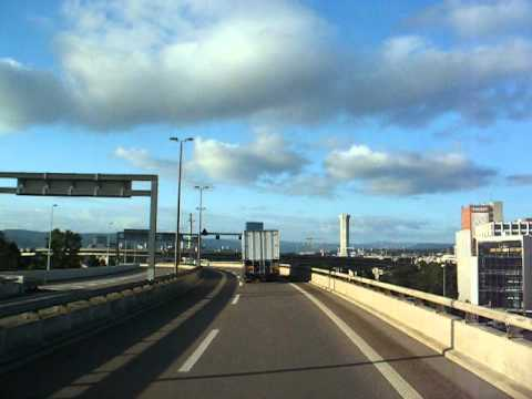 Driving from the border to Basel Centre