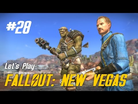 Let's Play Fallout: New Vegas - 28 - Drinks are on the House