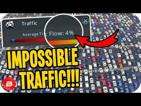 4% Traffic INSANITY!!! Fixing Real Time Mod - Cities: Skylines