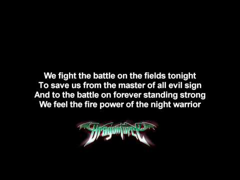 DragonForce - Black Winter Night | Lyrics on screen | HD
