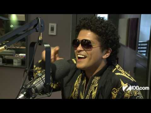 Bruno Mars talks 24k Magic, What he does...