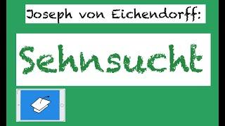 Eichendorff echte analyse liebe Wovon handelt