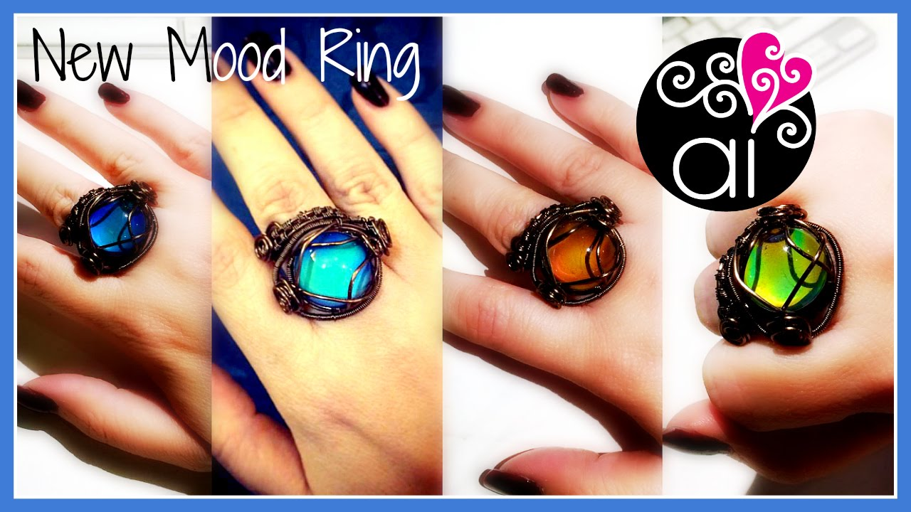 New Mood Ring   Wire Wrapping Tutorial   English Version ...