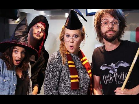 Amy Schumer & Bill Hader Piss Off Harry Potter Fans