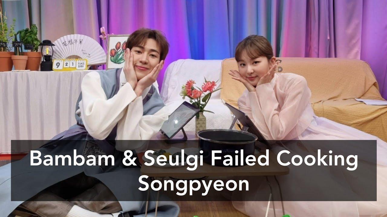 Bambam & Seulgi Failed Playing Ddakji   Seulgi ZIP Special Chuseok