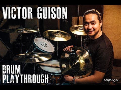 Victor Guison Of Franco Drum Playthrough Of Armada Ares Dark, Hades Darkman And Mayan.