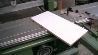 Sliding Table Saw / Scie à Format Vertongen Astra 3000