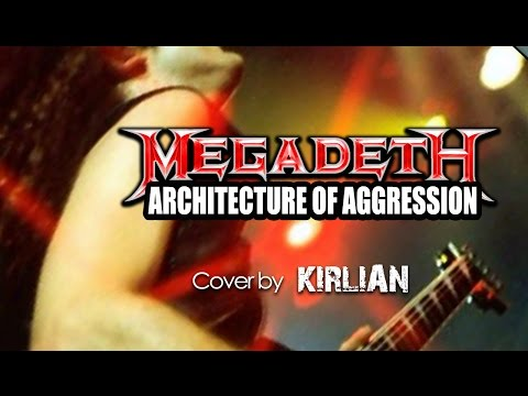 Megadeth - Architecture of aggression - instrumental cover